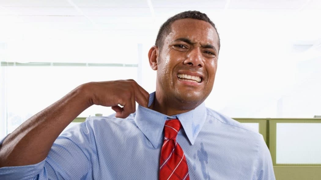 How to Control Sweating in an Interview